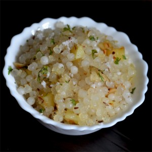 Sabudana Khichadi (Sago Snack)