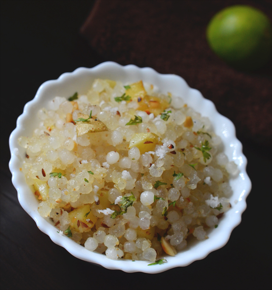 Maharashtra Style Sabudana Khichdi (Upas / Fasting)