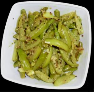 Stir Fried Tendli (Ivy Gourd)