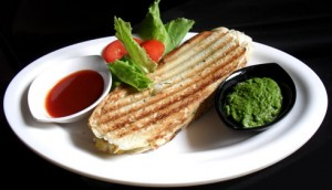 Indian Panini Sandwich