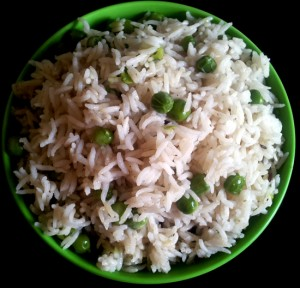 Fresh Green Peas Pulav