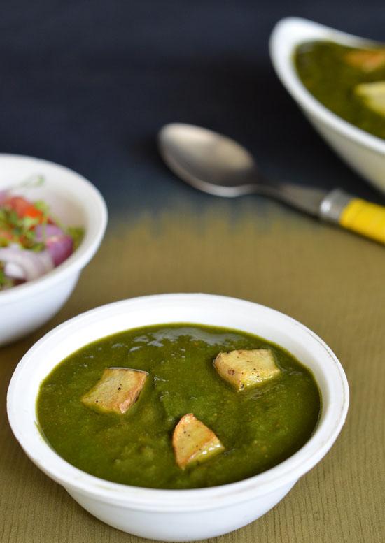 Recipe Of Aloo Palak