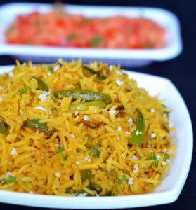 Easy to make rice dish for lunch box