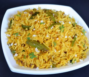 maharashrian Rice dishes