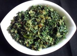 Green Chawli Bhaji