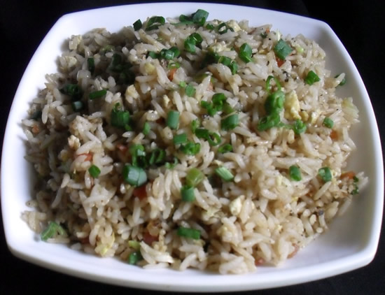 Egg Fried Rice Chinese Fried Rice