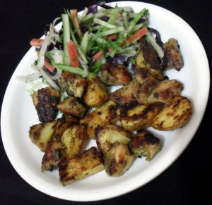 Mint Flavored Chicken Tikka