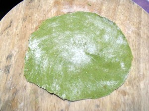 Spinach Cheese Paratha