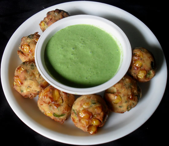 Corn Cheese Fritters