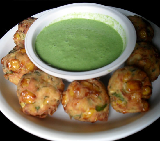 Crispy Corn Cheese Fritters