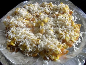 Corn Cheese Nachos