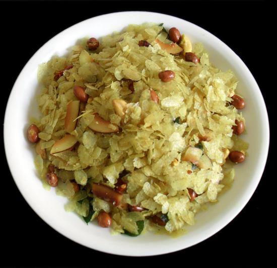 Patal poha chivda authentic maharashtrian recipe