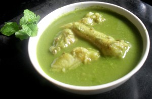 Bombay Duck In Green Curry