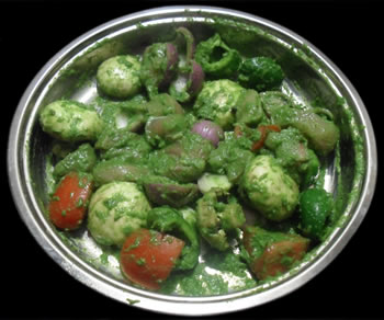 All vegetables marinated
