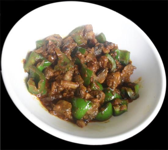 Mushroom Chili Gravy Dry