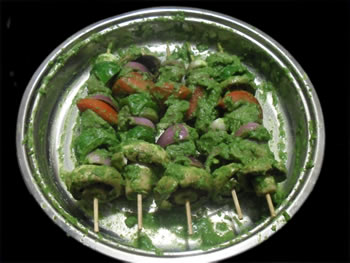 Veggies on Skewers