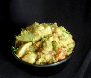 Mix Winter Vegetable Curry (Bhogichi Bhaji)
