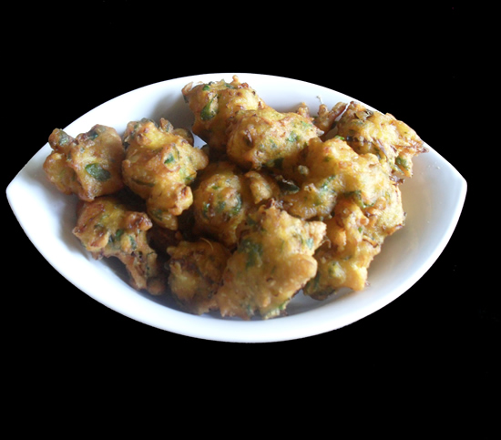 Cabbage Moong Dal Fritters