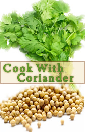 Coriander Recipes