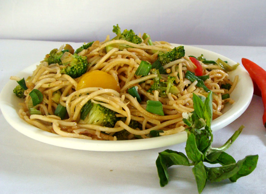 Thai Noodles without meat