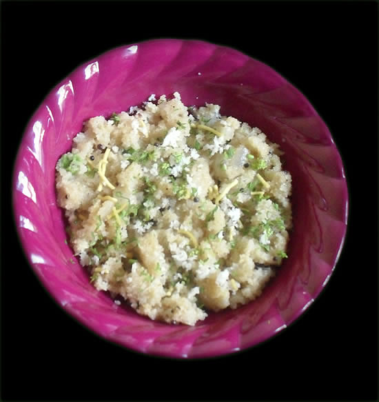 Upma Easy Breakfast