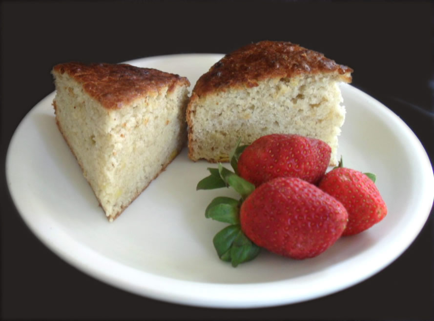 Banana Cake With Egg