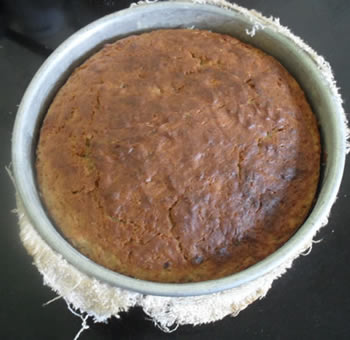 Cake Out of oven small