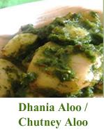 Dhaniya Aloo