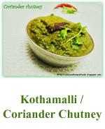Kothamalli Coriander chutney