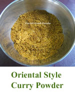 Oriental Style Curry Powder
