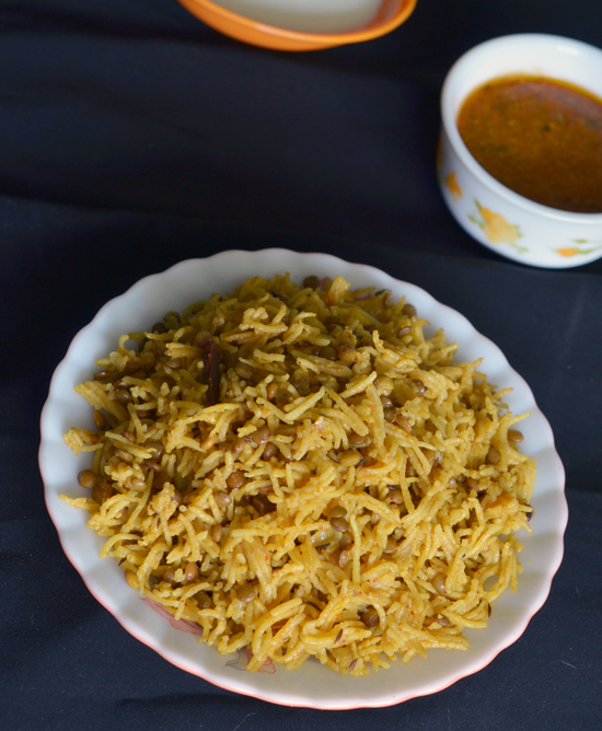 Masoor Biryani Healthy One Pot Rice Dish