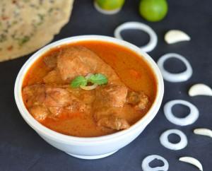 tasty flavorful spicy chicken curry