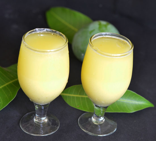 Raw mango drink