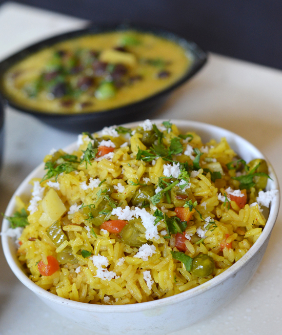 Spicy Rice - Masala Bhat