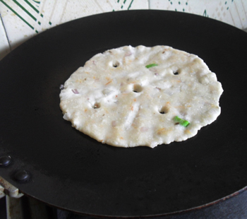 Akki Roti getting ready 8