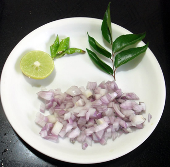Kande Pohe ingredients