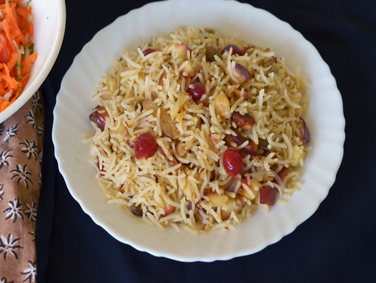 Pulav Recipe from Kashmir