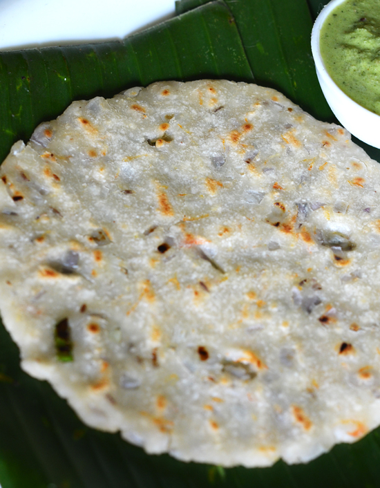 Akki Roti Recipe | Rice Roti | How To Make Akki Roti