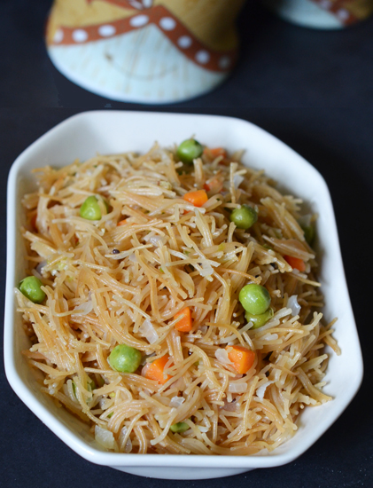 roasted semiya or shevya upma