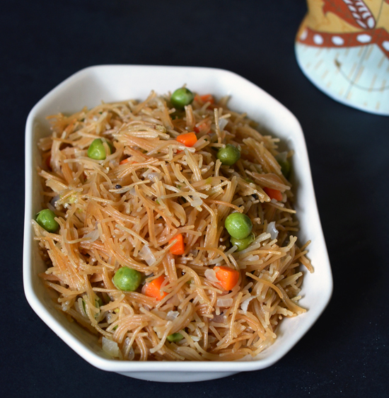 How to prepare vermicelli upma