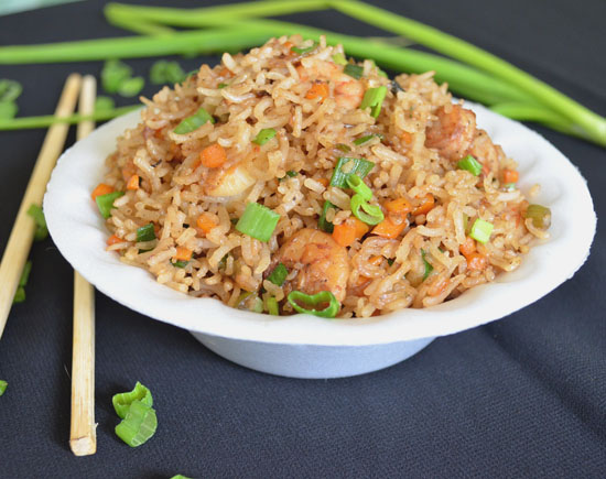 king prawn fried rice recipe