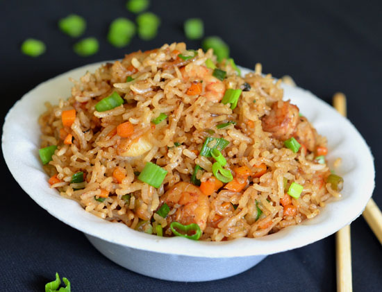 prawn fried rice recipe chinese