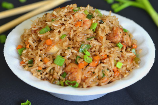 recipe for prawn fried rice