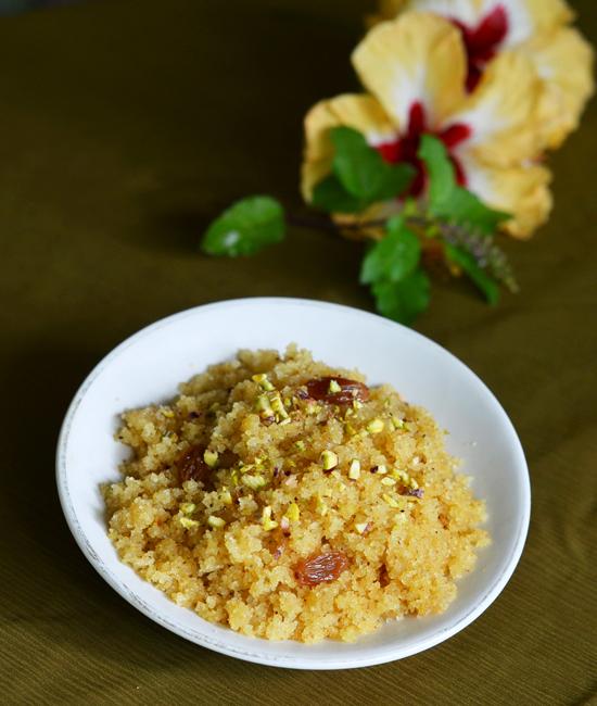 Godacha Shreera | Suji Halwa | Suji Ka Halwa | Quick Dessert Recipe
