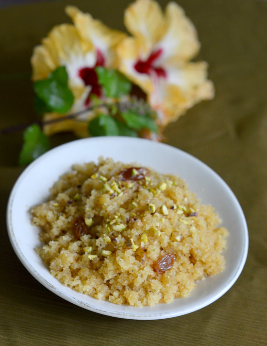 how to make dessert, recipes with semolina, how to make rava sheera,