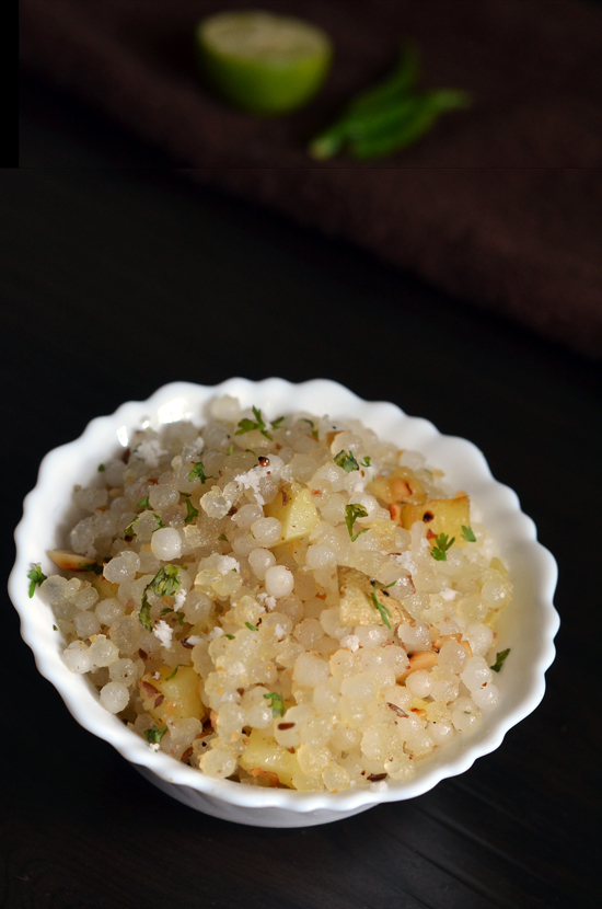 मराठी recipe Sabudana Khichdi