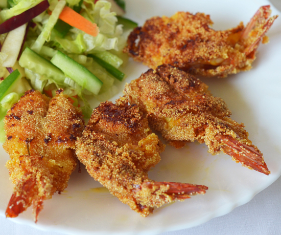 Tawa Fried Prawns Recipe