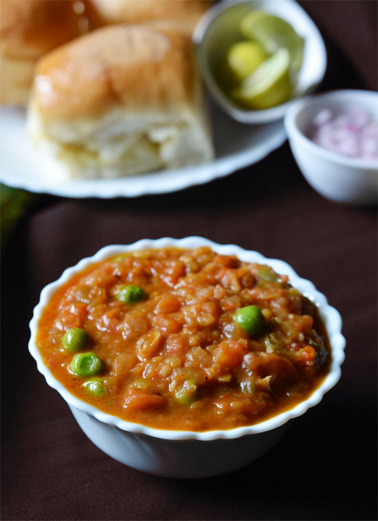 pav bhaji recipe in marathi