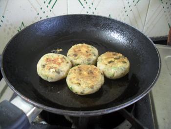 Frying Kebab