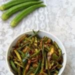 bhindi fry recipe